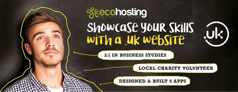 Showcase your skills with a .uk website