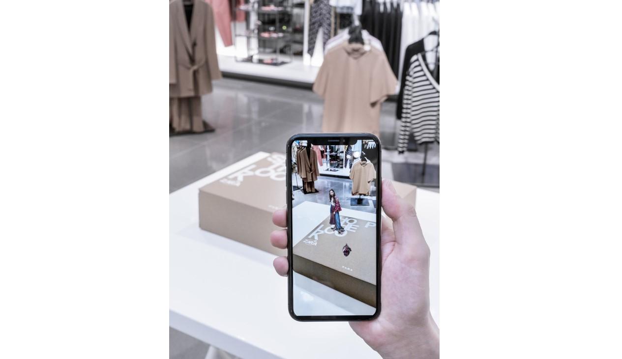 Zara augmented reality